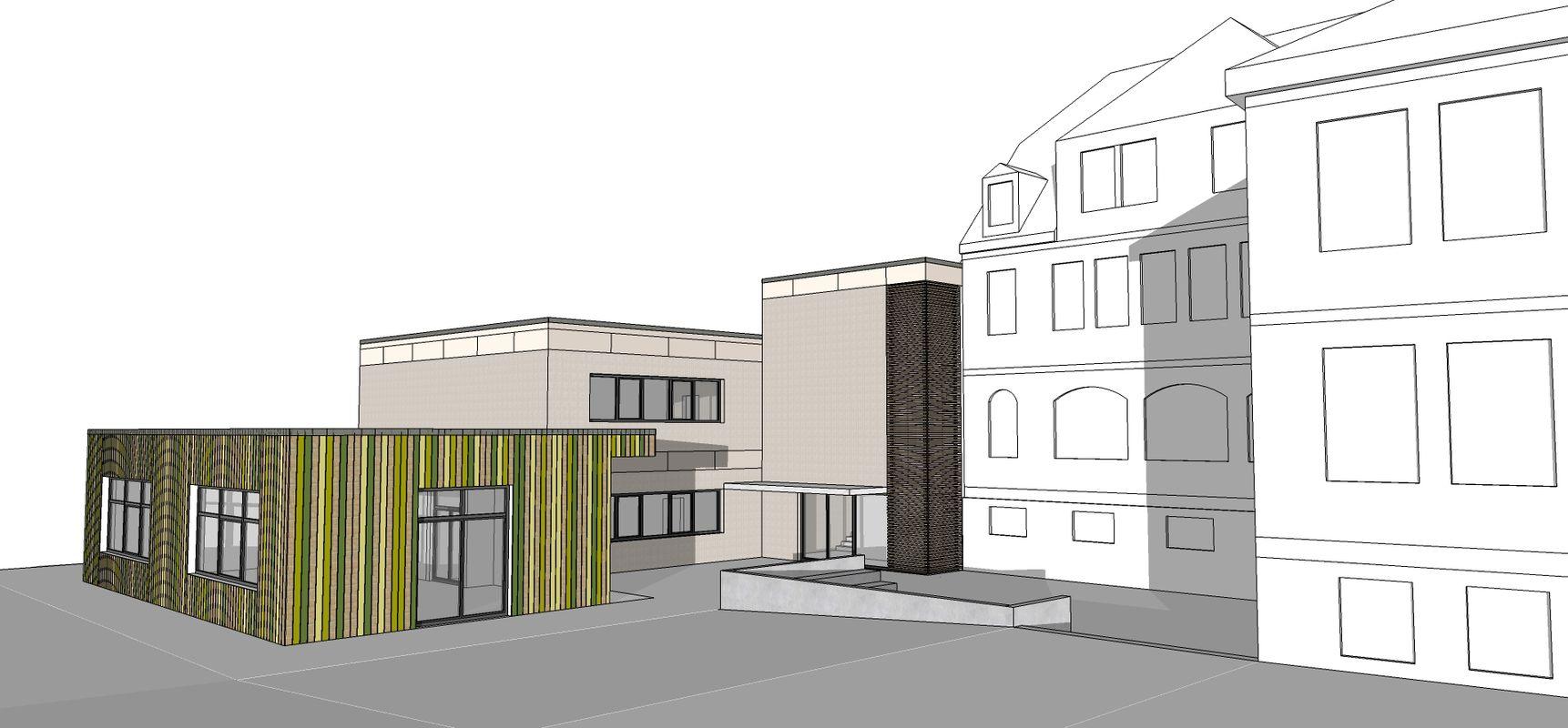 Erweiterung Bonifatiusschule Bad Salzschlirf 1