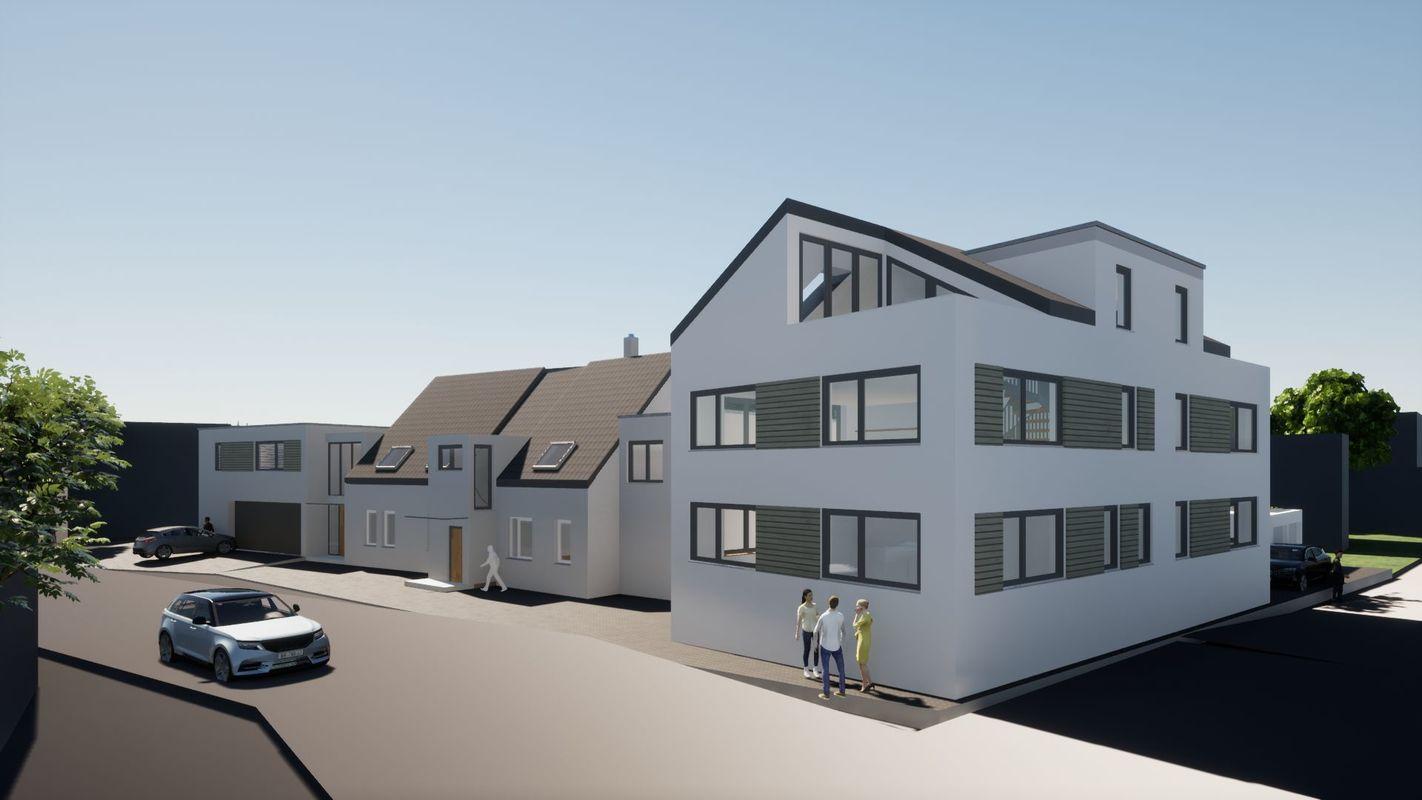 Erweiterung eines Wohn- und Mehrfamilienwohnhauses 1